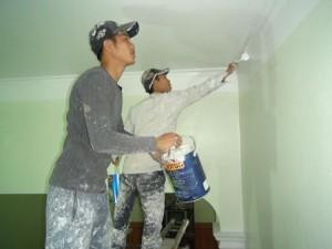 Dịch vụ sơn nhà ở tại quận 1
