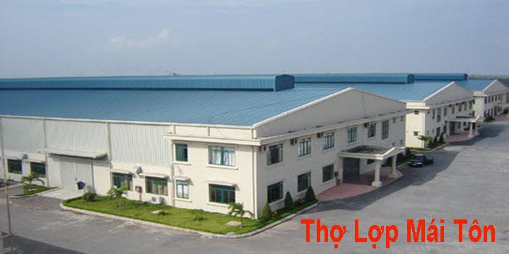 Thợ lợp mái tôn tại TPHCM, Bình Dương, Đồng Nai, Vũng Tàu, Hà Tĩnh