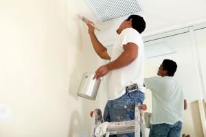 Thợ sơn nhà cũ tại Quận 5