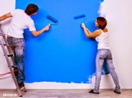 Thợ sơn nhà cũ tại TPHCM