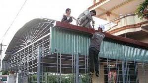 Dịch vụ sửa chữa mái tôn tại quận Gò Vấp,