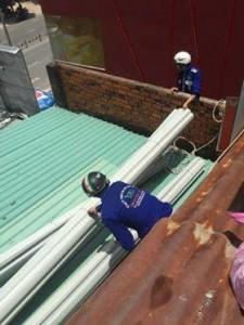 Dịch vụ sửa chữa mái tôn tại quận Phú Nhuận,