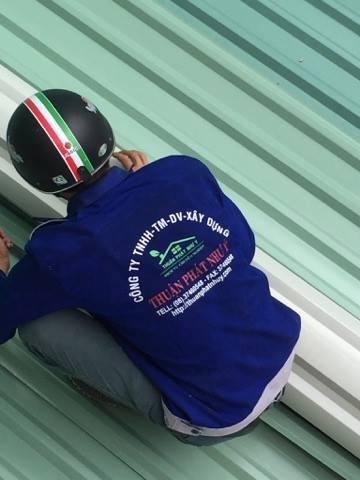 Dịch vụ sửa chữa mái tôn tại quận Bình Thạnh.