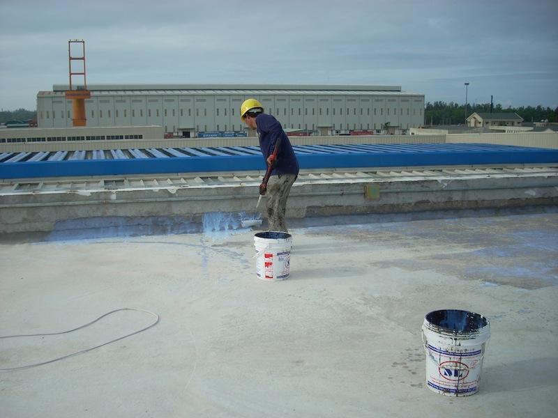 Dịch vụ chống thấm sân thượng ở quận tân bình