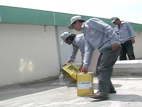 Dịch vụ chống thấm sân thượng ở quận thủ đức