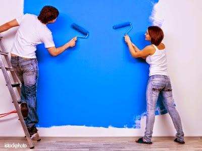 Thợ sơn nhà cũ tại Quận 2