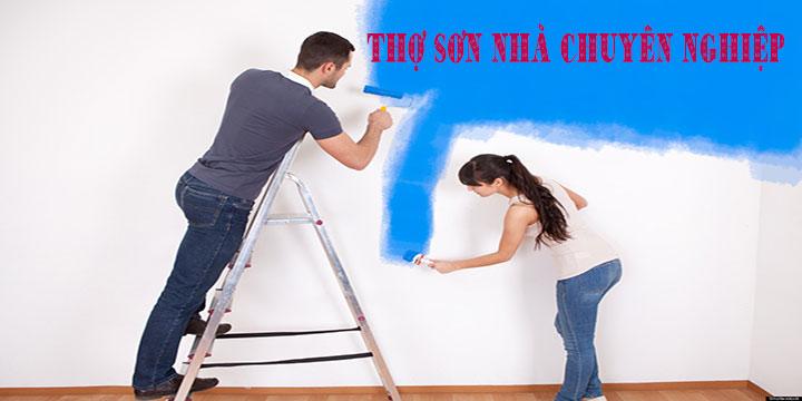 Thợ sơn nhà cũ tại Quận Thủ Đức