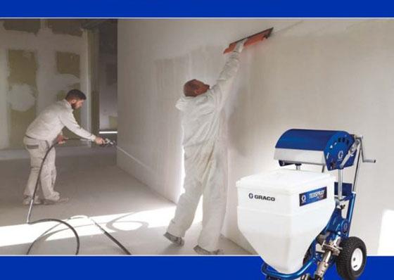 7 lỗi kỹ thuật cần tránh khi phun bột bả trét tường