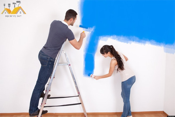 Vì sao sơn nhà màu xanh thường bán giá cao hơn?