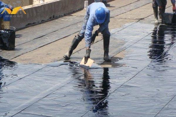 Dịch vụ chống thấm sân thượng ở quận 10